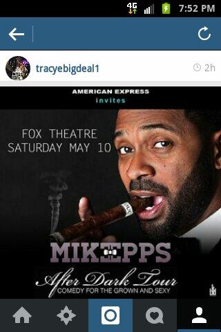 SAT MAY 10 WE LIVE@THE FAMOUS FOX THEATRE ATL HISTORY WILL BE MADE DONT MISS IT@7PM IM BOOKED!!! http://t.co/aDB2AR3XRF