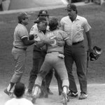RT @NBCSN: #tbt: George Brett goes off on an umpire who disallowed a go-ahead 9th-inning homer because of pine tar http://t.co/J6LCX4W0Zq