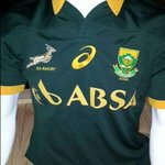 Finally @VandAWaterfront the new Springbok Jersey by @MyASICS has been revealed - Love It! @Brandinc_za @945Kfm http://t.co/gw4nCoPCIl