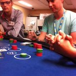 RT @Casinosofwpg: #TBT: a little Blackjack training last September with @MattFreshFM! http://t.co/7DM1eJpwqA