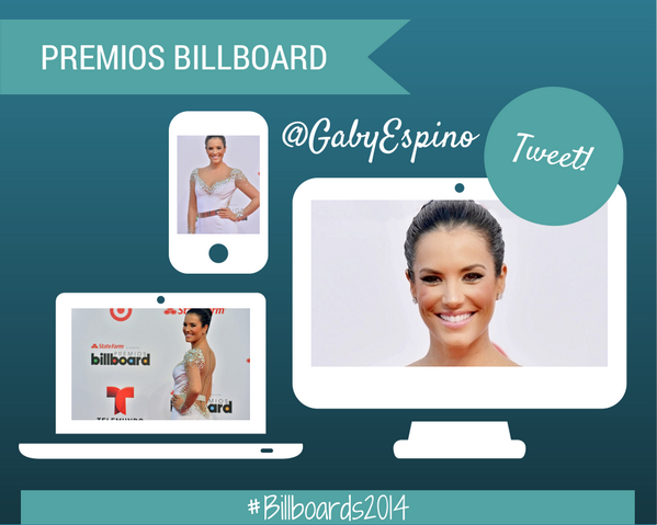 Mencionen a @gabyespino usando el hashtag #Billboards2014 !! RT @LatinBillboards http://t.co/Lcnd44Ddtq