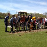 RT @AverettUCougars: Breaking ground on the new sports field! @auprez #averettfamily #6000thTweet http://t.co/LGa8lKQJ6y