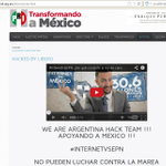 RT @AnonymousMex_: #MEXICO #PRI #HACKED #InternetvsEPN Nosotros 1 - @EPN 0 http://t.co/0yky1U552Q By @LIberoamericaMu @HackerArgentino http://t.co/NvH8mDcUWB