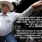 RT @liewbob: Guess What, Cliven Bundy? Your Nevada Ranch Is Also Getting a 'Government Subsidy' http://t.co/dhs8lyWvZU #UniteBlue http://t.co/Ckcli1AgIL