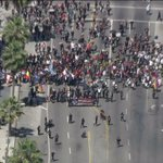 Marchers gather in East Hollywood to mark 99th anniversary of Armenian genocide http://t.co/25r5oIhHo5 http://t.co/E8eihgT36n