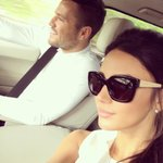 Me and the Mr. @MarkWright_ #matchingwhites #summer ☀️❤️ http://t.co/hKh7DGPwsZ