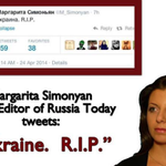 Russia Today journalists at their best, spreading hate speech. http://t.co/6AzfkmTYDt
