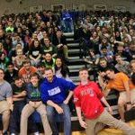 2 pics of me & Oldham County High School today n Buckner, KY. Thanks for having me guys! @NationalGuard #panoramas http://t.co/Q3f8wXa3Sa