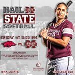 RT @HailStateSB: Join us at 5 p.m. tomorrow to kick off senior weekend. A special group of seven with one more home series. #HailState http://t.co/du3wWF1YSC