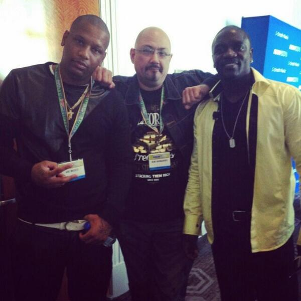 At #ascapexpo with my boss @Akon he had a great panel today! http://t.co/588UQ4oh9x