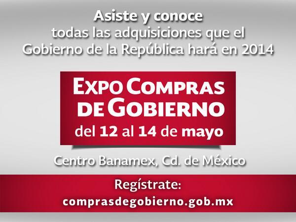 ¿Quieres saber cómo venderle al @gobrep? Asiste a los talleres y conferencias de #ExpoComprasdeGobierno http://t.co/UEYhkk9OgX