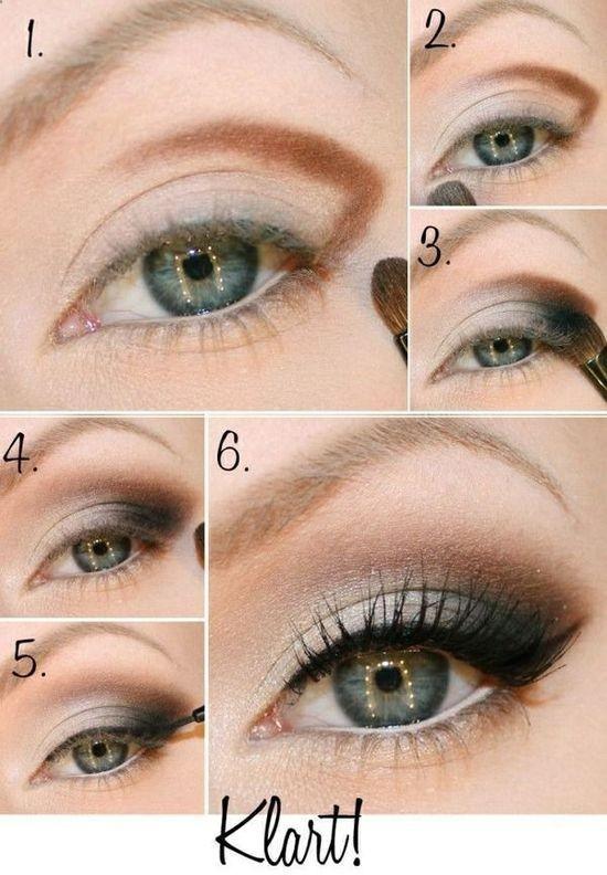 maquillaje basico de ojos