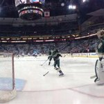 Great panoramic from #mnwild warm-ups #itsplayoffseason http://t.co/jyS4pOonr3
