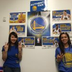 RT @warriors: Awesome! RT @GadgetGirlMY: #LetsGoWarriors Our Warriors wall at work! Dubs always on our minds #BeatLA http://t.co/hznltik0Os