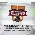 RT @HailStateBB: Lets fill The Dude tonight on national television. @ESPNU in the house! First 1,000 get free shirts! http://t.co/RuFQAVyn5H
