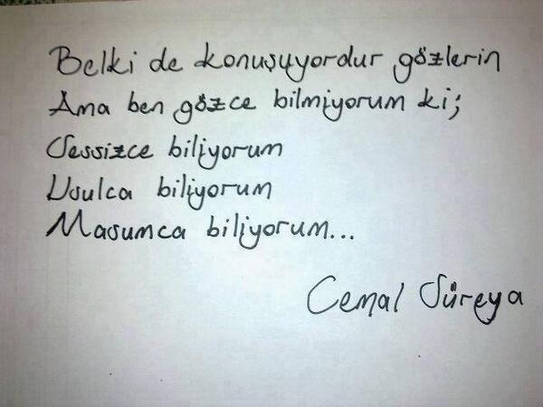 RT @soneronerr: #siirsokakta Cemal Süreyya.. http://t.co/f8qLysYiQS
