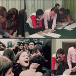 Paul McCartney y George Harrison firmando la separación de los Beatles. http://t.co/ZcBJc5v7mv