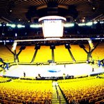 RT @warriors: The calm before the #WarriorsGround storm. 5 hours till tipoff. #DubNation #BeatLA http://t.co/OETnGsk8jD