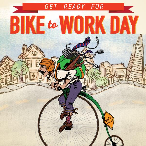 #BiketoWorkDay is on May 8! We've got 8 (and a half) tips to help you ride your best: http://t.co/YbiVfvSAIg http://t.co/q2hTQBOmPY