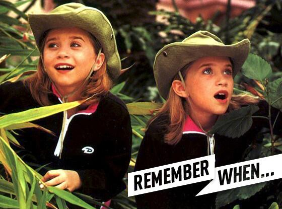 #TBT time! Remember when the Olsen Twins could solve any crime by dinnertime? We do: