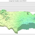 Average daily precipitation in the US  Source: CDC - http://t.co/XWpD416wEH