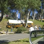 ANAHEIM HILLS,CA *MCI BUS CRASH*  PIC FROM SCENE ON E NOHL RANCH RD - @ABC7 - https://t.co/UX1AguFwQG #BREAKING