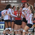 Our first award goes to @RadfordVB for our team of the year #RUBYS14 http://t.co/2cwmUFdJAR