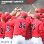 Our community service award goes to @RadfordBaseball for supporting @SuperSAdventure #SuttonsSquad #RUBYS14 http://t.co/H8pk1IBLLw