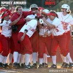 RT @ru_athletics: .@RadfordSoftball claims the spirit award at the #RUBYS14 http://t.co/HOHF5OlOwi