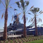 New park @ussiowa Sit, relax and enjoy the view! http://t.co/171yq4skGs #mydayinla #throwbackthursday http://t.co/hHIo1WsHaA