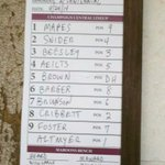 Starting lineup for the Maroons vs Centennial--Coach Ian http://t.co/GosaujQBs2