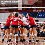 .@RadfordVB was selected the womens team GPA award winner #RUBYS14 http://t.co/P5td8yQCfi