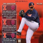 RT @IlliniBaseball: #B1G Series in Champaign! Top 2 @B1Gbaseball teams: @IUBaseballNews (11-1) vs. #Illini (9-3) http://t.co/ln1fYPs69Z http://t.co/5gjrajIzs8