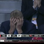Larry Bird is not having a good time. http://t.co/vVCojwGS9O