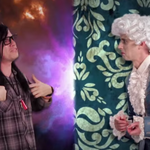 One year ago this month, @Skrillex and Mozart got in an epic rap battle. Who won? http://t.co/zeqFEUu96P #tbt http://t.co/6AkMeQBQtl