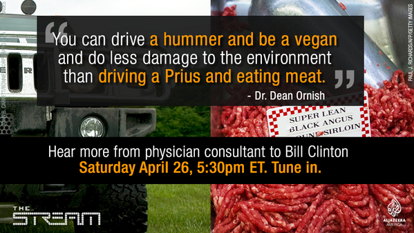 Sat. 5:30pm ET: Tune in to hear @billclinton's physician consultant answer your health questions. Don't miss it!