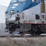 Amtrak train has hit something near the Wal-Mart on RT 45. Emergency officials on scene. http://t.co/XNV6Tfzj1Q