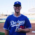 "Its @ClaytonKersh22 ""Cy Young"" Bobblehead Night presented by TWC: http://t.co/zzN92Ji4wm"