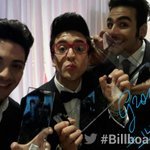 RT @LatinBillboards: ¡Felicidades! ¡Que seiga la fiesta! #Billboards2014 with @ilvolo http://t.co/QTnLdLrkLT