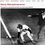 .@kbalfe MT @greggiroux: RT @JonathanWeil: Buckner's Red Sox Error Lives On as 404 Web Page http://t.co/k0WP6C50Sf http://t.co/DMDhyRgSBZ