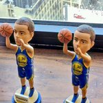 The only thing harder to guard than Steph Curry? Two Steph Currys #LetsGoWarriors http://t.co/FirRO7ADTc