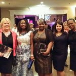 "RT ""@nannymaroon: Women celebrating women @ #WOD2014 @DeniseLynnDoyle @Illuminessence1 @SherryMousavi @lisab http://t.co/g6g7Gs49Ps"""