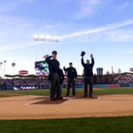 The umpires nightly salute to Vin Scully. #ITFDB http://t.co/cv45eITSq4