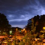 Shelf cloud illuminated my lightning moving through @msstate 15 minutes ago. @MSUWeather #MSwx http://t.co/eUU4BhfsGn