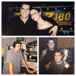Z100 Early 2000s! With @spotcenter at Club Z, with best friend Christina, & in studio my first year! #TBT http://t.co/D3QkjnfdJU