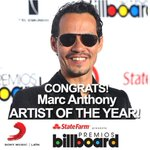 RT @cguille1: Marc Anthony con 10 premios #Billboards2014 se corona como rey de la música latina http://t.co/Zai4x979pJ