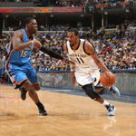 RT @BleacherReport: Memphis takes a 2-1 lead over OKC with a 98-95 OT win in the Grindhouse! Conley finished with 20 points http://t.co/z1AlXnfahr