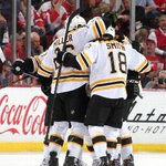 RT @espn: OT winner! The Bruins have won both games in Hockeytown. http://t.co/9ZuthC7GyZ