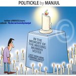 RT @MANJULtoons: Mumbai votes. My #cartoon #Elections2014 #ThingsThatWillHelpMumbaikarVote http://t.co/cGSQtCZeOi