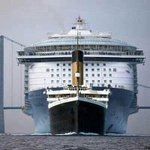 Comparison of the Titanic and a modern cruise ship http://t.co/mAgK64VkRR